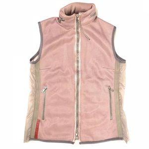 Prada athletic full zip sport vest IT 42 US L